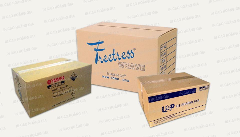 In ấn hộp - thùng carton giá cạnh tranh